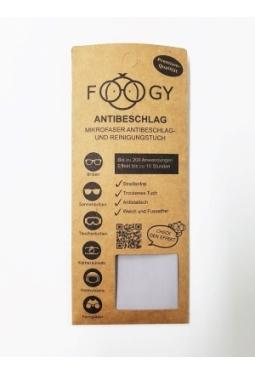 FOOGY Mikrofaser Antibeschlag- und Reinigungstuch